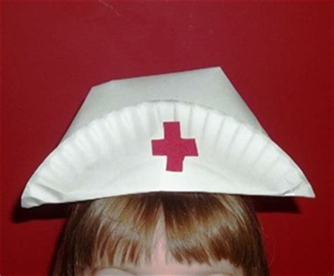 How To Make A Nurses Hat Out Of Paper - inspirations letter n week