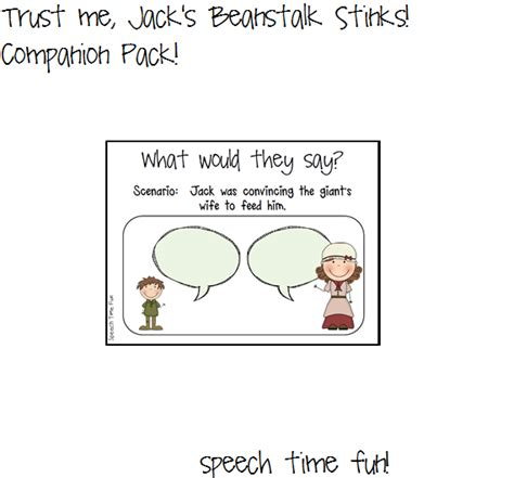 trust me jacks beanstalk 1406243124 trust me jack s beanstalk stinks companion pack