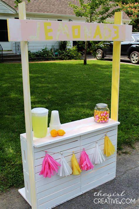 diy lemonade stand diy lemonade stand the creative