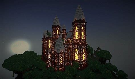 cliff mansion minecraft building