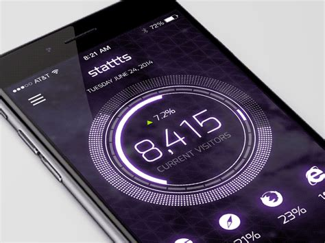 Play Around With The Yoyo Concept Phone by Mobile Ui Motion Concept By Devin Dribbble