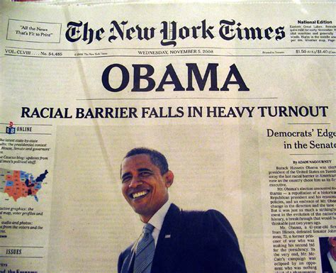 new york times obama 17 newspaper front pages that depict the most iconic days