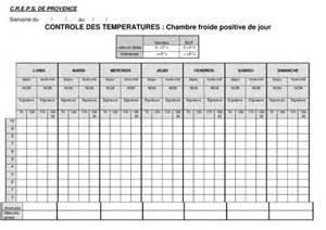 temperatures frigo pdf notice manuel d utilisation