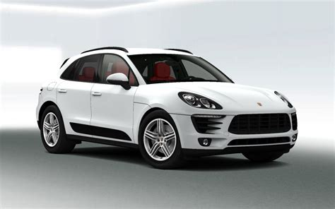 porsche macan white roof rail system can not be installed aftermarked nor by