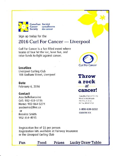 Calendar 60 Cook County County Community 2016 Curl For Cancer Feb 6th At
