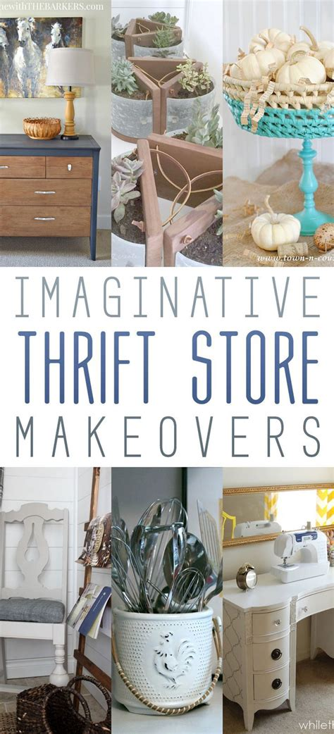 thrift store diy home decor imaginative thrift store makeovers the cottage market