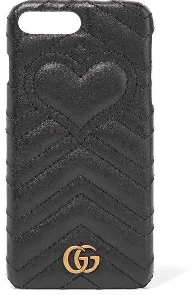 gucci gg marmont quilted leather iphone   case net  portercom