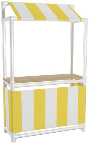Home Awning Ideas How To Build A Pvc Lemonade Stand Formufit