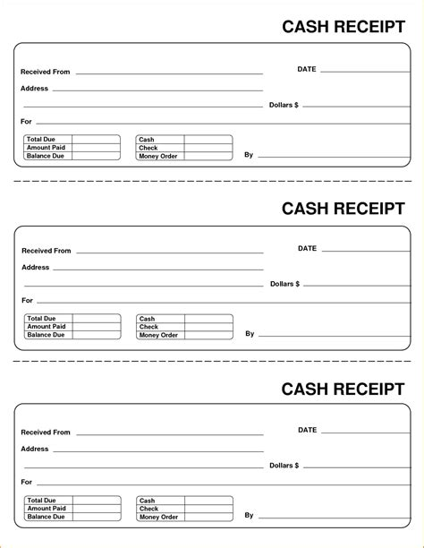 test receipt word template template delivery receipt form template word