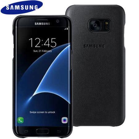 Auracase Anyland Original Samsung Galaxy S7 Edge Black official samsung galaxy s7 edge leather cover black