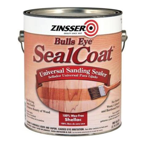 zinsser 1 qt sealcoat wood sealer case of 4 824h the