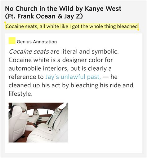 no church in the wild kanye west ft jay z mp3 cocaine seats all white like i got the no church in