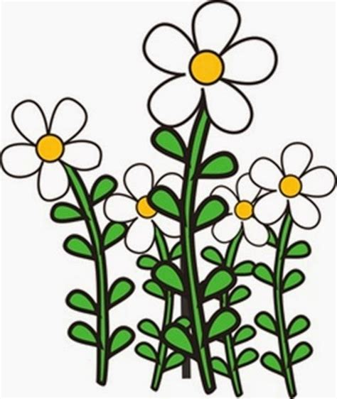 Flower Garden Clipart Garden Flowers Clip Many Flowers