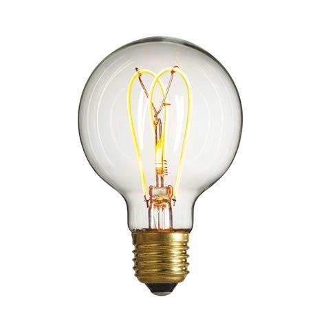 decorative led filament bulb nud globe bulb