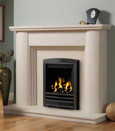 Fireline Fireplaces by Fireline Faro Limestone Fireplace
