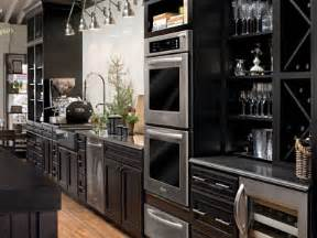 Black Stained Kitchen Cabinets by Kitchen Gallery Kitchens By Hastings