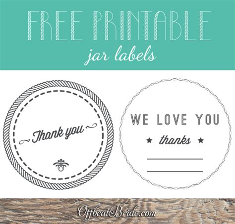 free printable wedding jar labels make a portable favor with cupcakes in a jar plus free