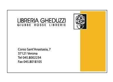 libreria gheduzzi verona libreria gheduzzi verona exibart