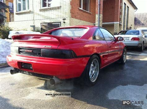 1992 Toyota Mr2 Turbo Specs 1992 Toyota Mr2 Turbo T Bar Jdm Car Photo And Specs