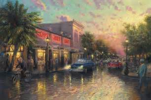Paint By Number Wall Murals key west limited edition art the thomas kinkade company