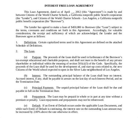 27 Loan Contract Templates Doc Pdf Free Premium Templates Llc Member Loan Agreement Template
