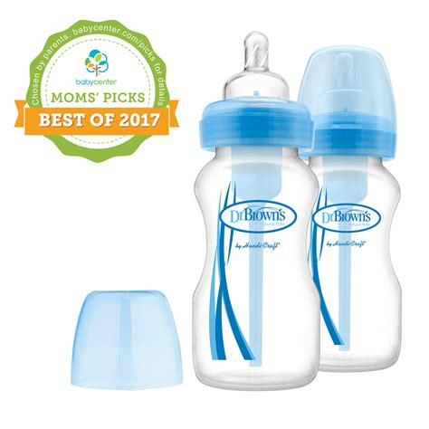 Blue Dr Brown S Browns Wide Neck Options Bottle 2x270ml Special Ed dr brown s baby dr brown s flow 174 options wide neck pink blue bottles dr brown s baby