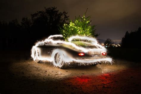 porsche with christmas porsche 356 speedster christmas edition backsite