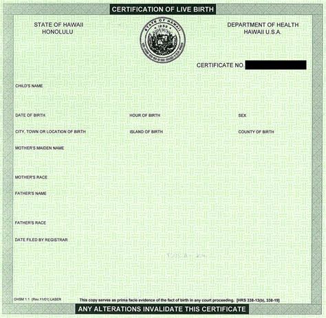 blank birth certificate template blank certificates