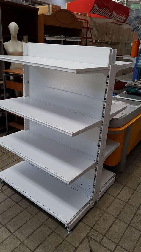 scaffali negozio usati scaffalatura usata per negozio tipo gondola scaffali