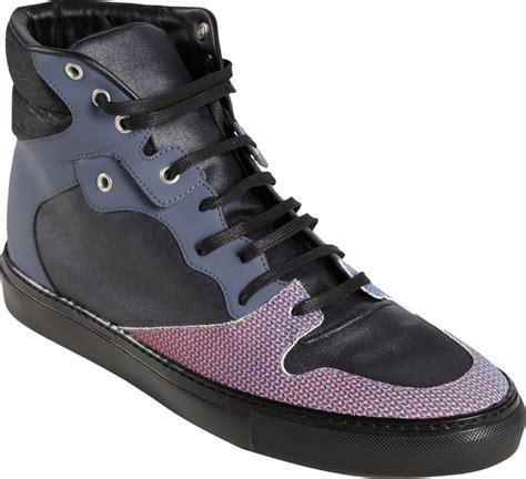 pink balenciaga sneakers balenciaga chameleon hightop sneakers in pink for