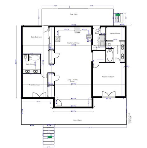 rustic cabin plans floor plans rustic retreat cabin greer arizona