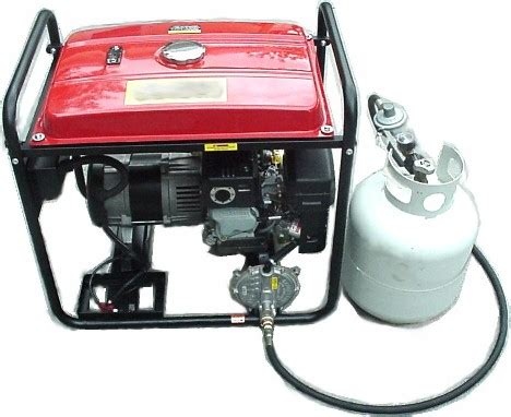 generator conversion kits to propane and gas