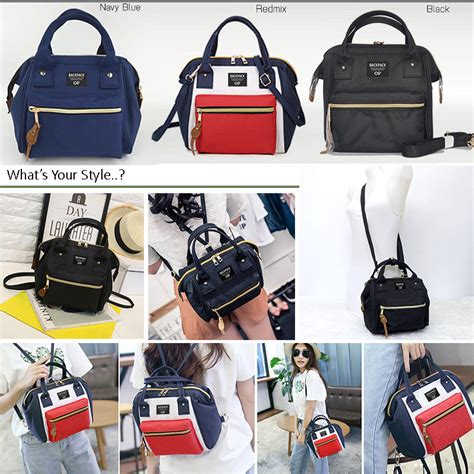 Tote Kuliah Messenger Shopping Selempang Notebook Multifungsi 3 ways bag atdiva tas ransel selempang simple casual multifungsi elevenia