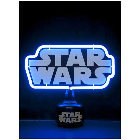 star wars office star wars logo mini neon light traditional gifts thehut com