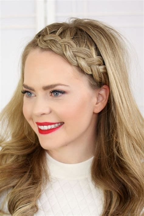 how to do full crown hairstyles four headband braids 183 how to style a crown braid 183 beauty