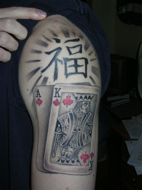 poker tattoos designs devyy design