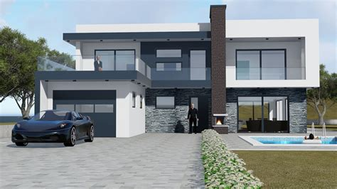 3d models luxury contemporary house modern house 3d model house modern