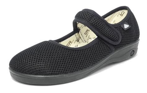 womens x wide eee fit washable mesh shoes pumps