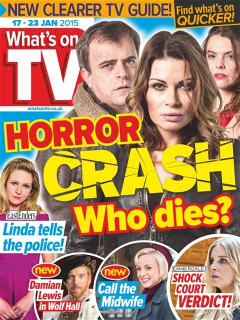 what s on tv magazine 17th january 2015 subscriptions