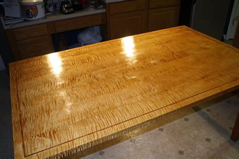 curly maple  cherry dining table  dasnipa
