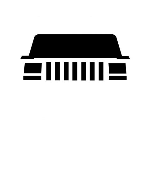 jeep grill logo vector vector image needed jeep cherokee forum
