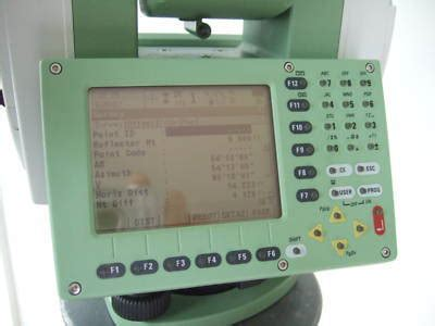 leica tcrp 1205 robotic total station complete, rx1220