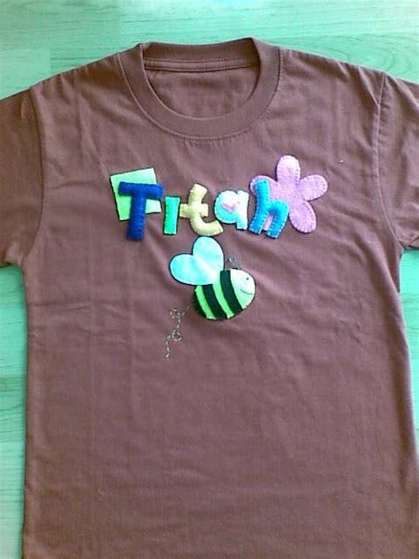 Kaos Powerpuff 11 Cotton Combed 24s Tshirt t shirt dengan accesories felt toompankcraft
