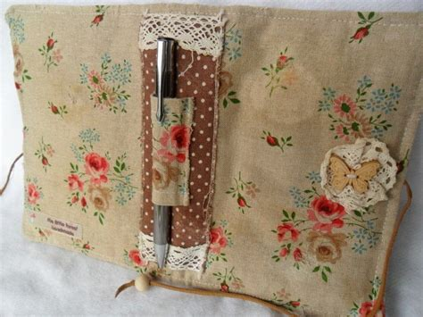 shabby chic notebook cosy 183 a binder folder 183 sewing on cut out keep
