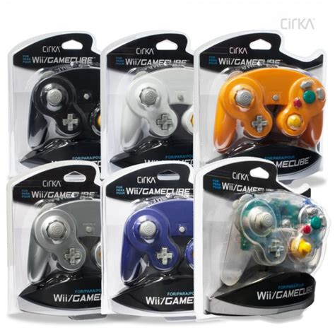 gamecube colors wired controller for wii gamecube 6 colors pack cirka