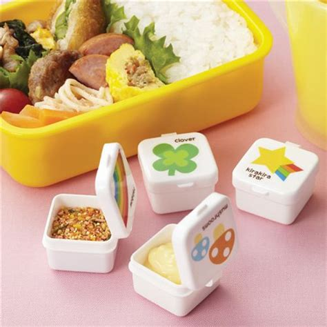 Sale Box Bento Sekat 5 Tutup rainbow mini sauce containers bento box lunch box bento accessories bento boxes