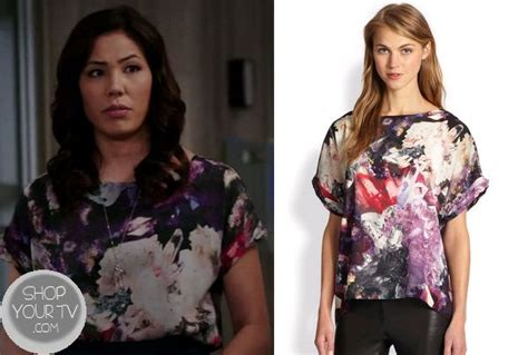 michaela conlin hairstyle on bones episode mayhem on a cross 80 best images about cam s outfits on pinterest