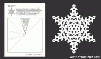 printable paper snowflakes instructions paper snowflakes templates doliquid