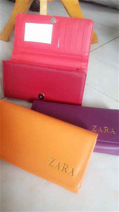 Dompet Wanita Kulit Zara 1resleting Orange dompet wanita zara replika