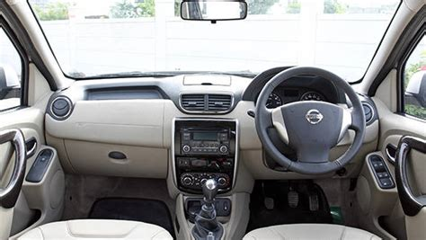 nissan terrano india interior nissan terrano diesel india road test review road test